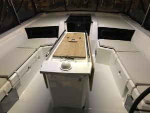 coussins de cockpit oceanis1