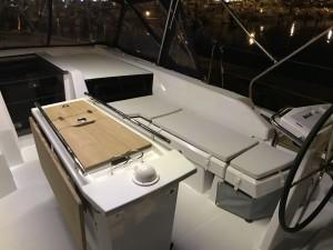 coussins de cockpit oceanis2